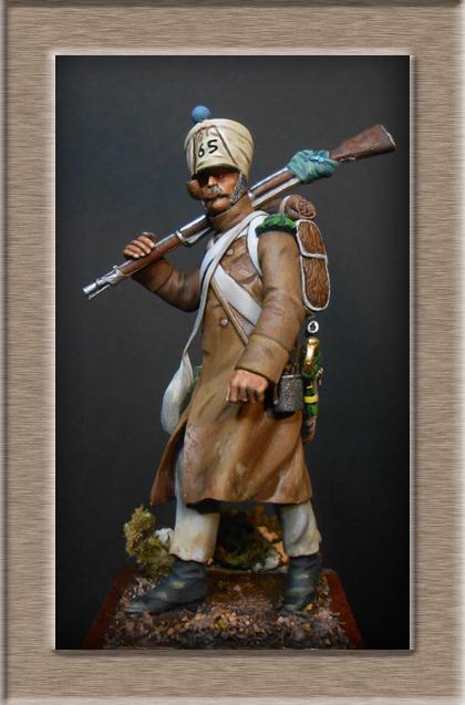 Vitrine Alain 2  Cavalerie légère   Hussard du 14e régiment 1814 MM54mm - Page 11 Dscn4018