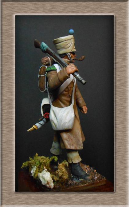 Vitrine Alain 2  Cavalerie légère   Hussard du 14e régiment 1814 MM54mm - Page 11 Dscn4020