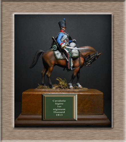 Vitrine Alain 2  Cavalerie légère   Hussard du 14e régiment 1814 MM54mm - Page 11 Dscn4030