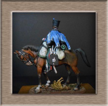 Vitrine Alain 2  Cavalerie légère   Hussard du 14e régiment 1814 MM54mm - Page 11 Dscn4112