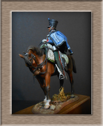 Vitrine Alain 2  Cavalerie légère   Hussard du 14e régiment 1814 MM54mm - Page 11 Dscn4114