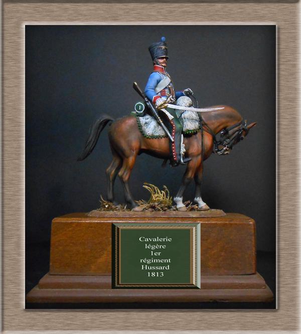 Vitrine Alain 2  Cavalerie légère   Hussard du 14e régiment 1814 MM54mm - Page 11 Dscn4120