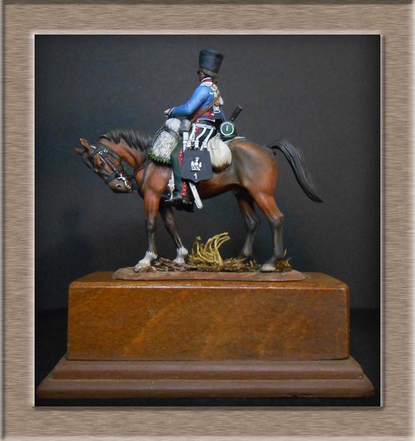 Vitrine Alain 2  Cavalerie légère   Hussard du 14e régiment 1814 MM54mm - Page 11 Dscn4121