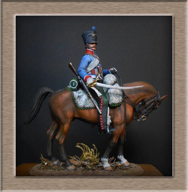 Vitrine Alain 2  Cavalerie légère   Hussard du 14e régiment 1814 MM54mm - Page 11 Dscn4123