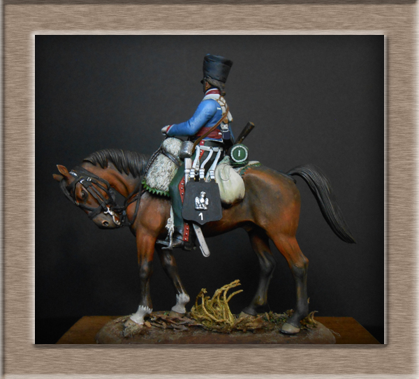 Vitrine Alain 2  Cavalerie légère   Hussard du 14e régiment 1814 MM54mm - Page 11 Dscn4128