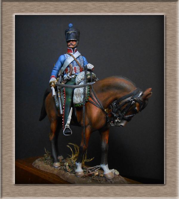 Vitrine Alain 2  Cavalerie légère   Hussard du 14e régiment 1814 MM54mm - Page 11 Dscn4129