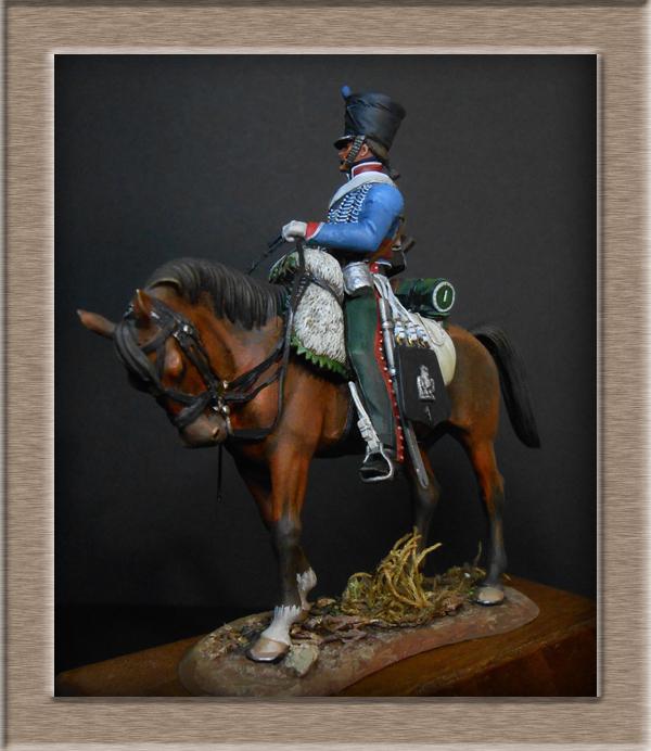 Vitrine Alain 2  Cavalerie légère   Hussard du 14e régiment 1814 MM54mm - Page 11 Dscn4132