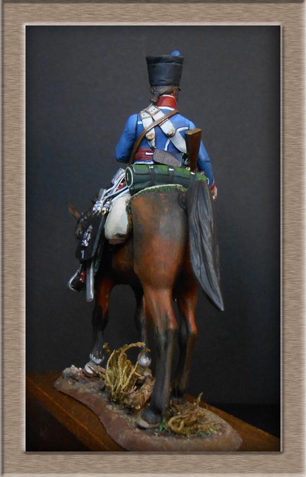 Vitrine Alain 2  Cavalerie légère   Hussard du 14e régiment 1814 MM54mm - Page 11 Dscn4133