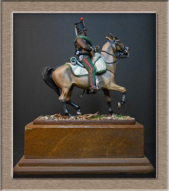 Cavalerie légère Hussard 14e Régiment 1814 MM54mm Dscn4138