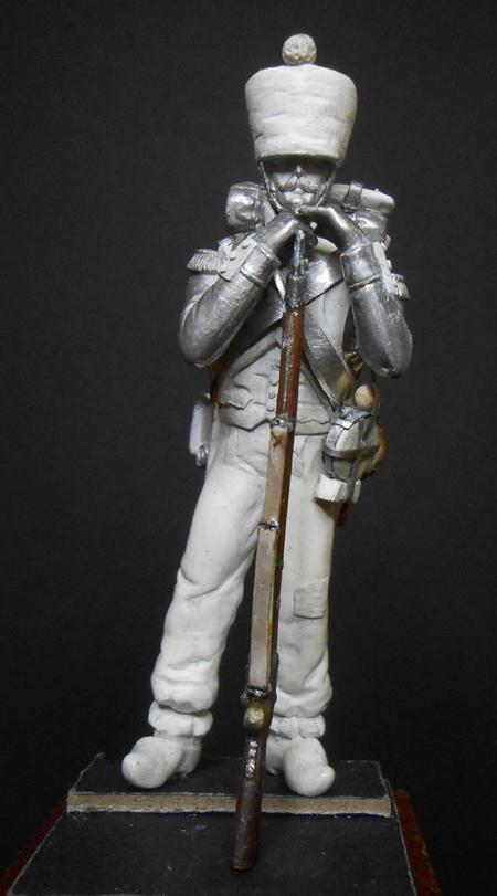 1ère sculpture figurine 1er empire 54mm Dscn4230