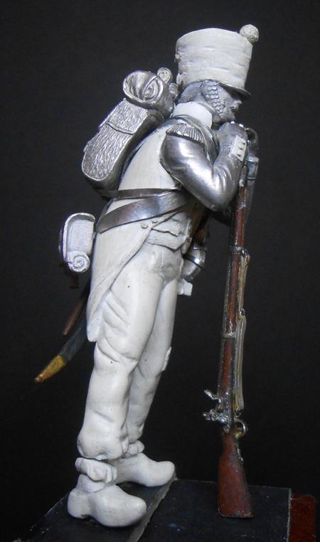 1ère sculpture figurine 1er empire 54mm Dscn4231