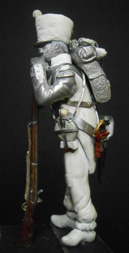 1ère sculpture figurine 1er empire 54mm Dscn4232
