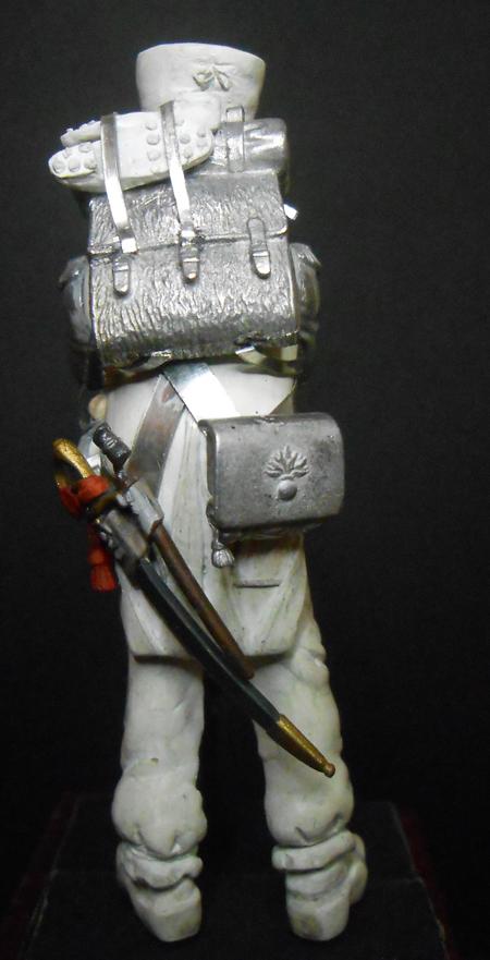 1ère sculpture figurine 1er empire 54mm Dscn4233