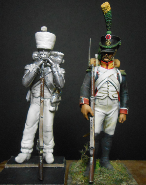 1ère sculpture figurine 1er empire 54mm Dscn4236