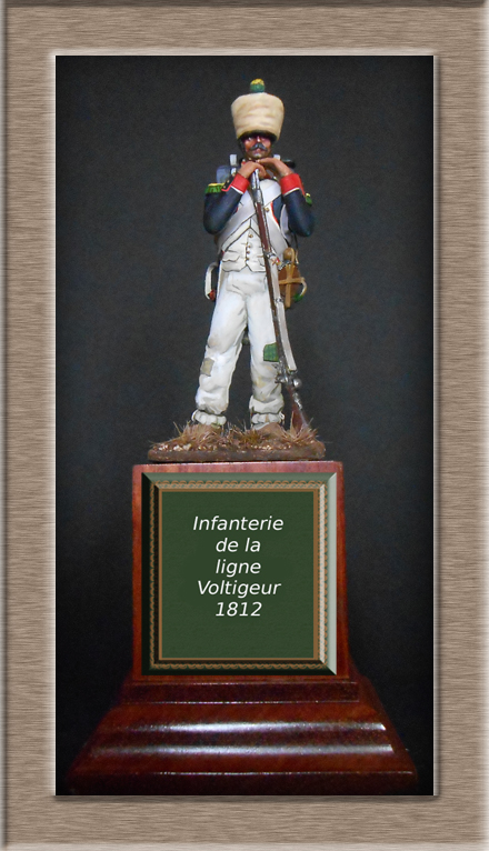 Mise en peinture sculpture Voltigeur 1812 Dscn4238