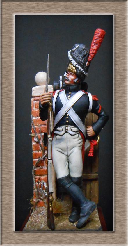 Grenadier de la garde en surtout 1807 sculpture et peinture Dscn4327