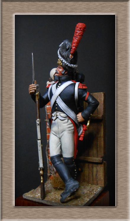 Grenadier de la garde en surtout 1807 sculpture et peinture Dscn4412