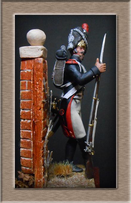 Grenadier de la garde en surtout 1807 sculpture et peinture Dscn4413