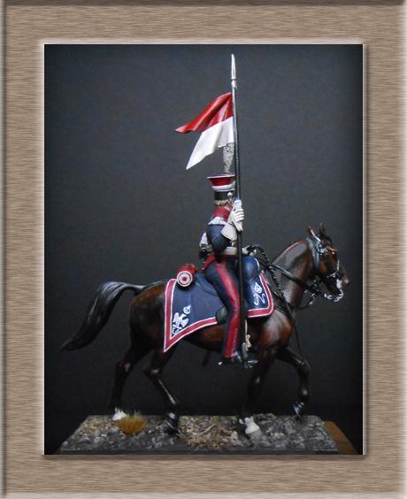 Vitrine Alain 2  Chevau-léger Polonais de la Garde 1810 MM 54 mm ) - Page 13 Dscn4511