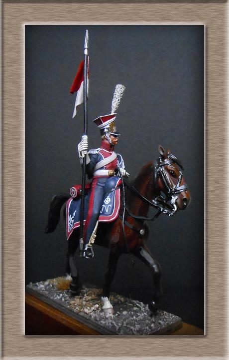 Vitrine Alain 2  Chevau-léger Polonais de la Garde 1810 MM 54 mm ) - Page 13 Dscn4512