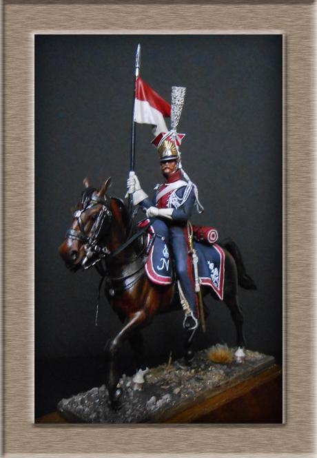 Vitrine Alain 2  Chevau-léger Polonais de la Garde 1810 MM 54 mm ) - Page 13 Dscn4513