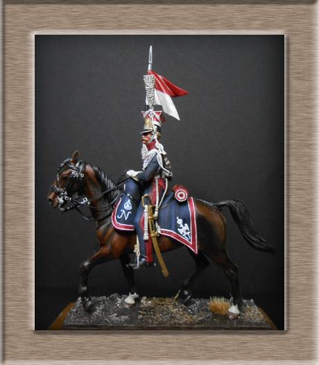 Chevau-léger Lancier Polonais de la Garde 1810. Dscn4519