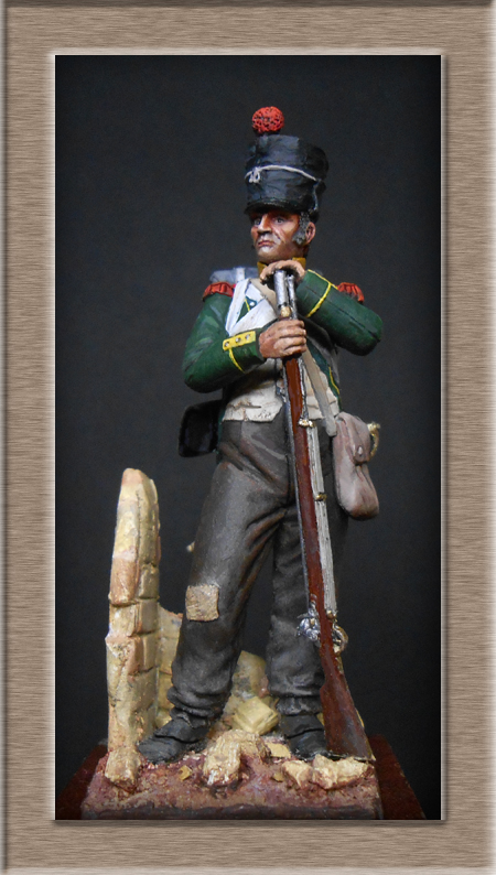 Vitrine Alain 2 Légion Portugaise .Grenadier1808-1814 Chronos Miniatures résine   54mm résin 54 mm ) - Page 14 Dscn4526