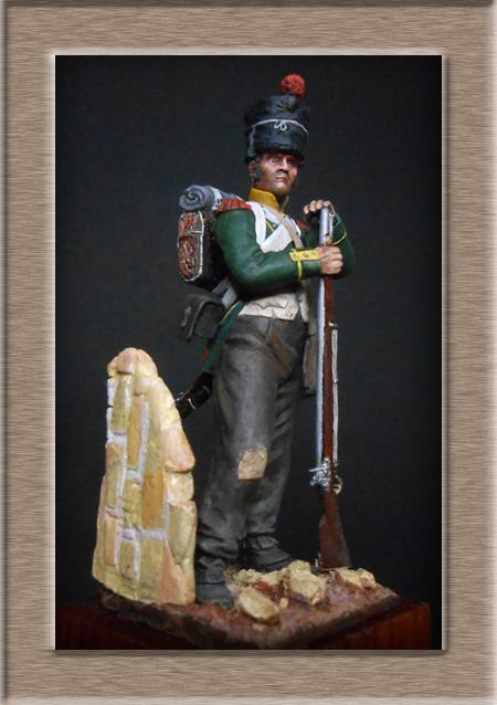 Vitrine Alain 2 Légion Portugaise .Grenadier1808-1814 Chronos Miniatures résine   54mm résin 54 mm ) - Page 14 Dscn4527