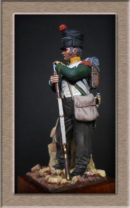 Légion Irlandaise Carabinier Espagne 1808 (SOGA miniatures résine 54mm) Dscn4533