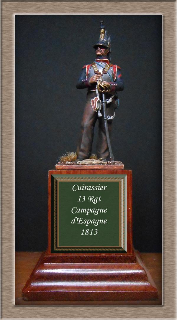 Cuirassier campagne d'Espagne 1813 Métal Modèles 54mm Dscn4615