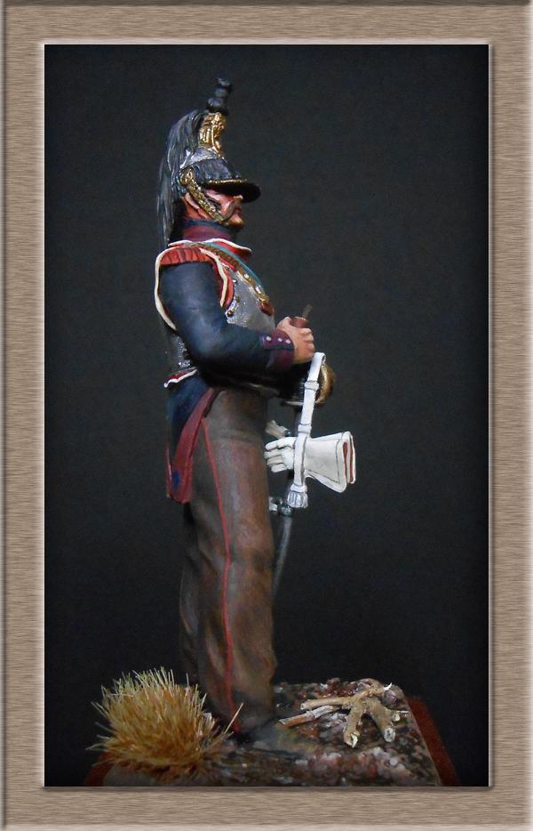 Cuirassier campagne d'Espagne 1813 Métal Modèles 54mm Dscn4617