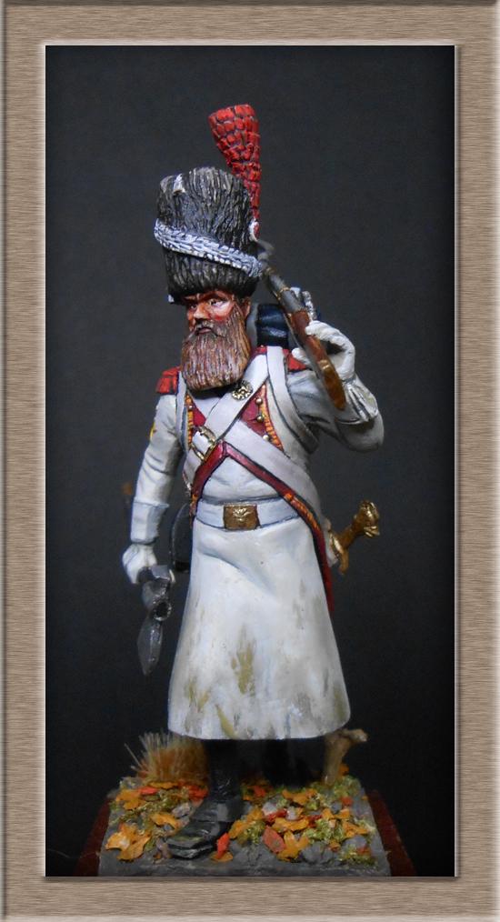 Sapeur des grenadiers  hollandais de la Garde SOGA  Miniatures 54mm résine Dscn4629