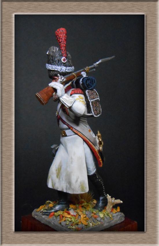 Sapeur des grenadiers  hollandais de la Garde SOGA  Miniatures 54mm résine Dscn4632