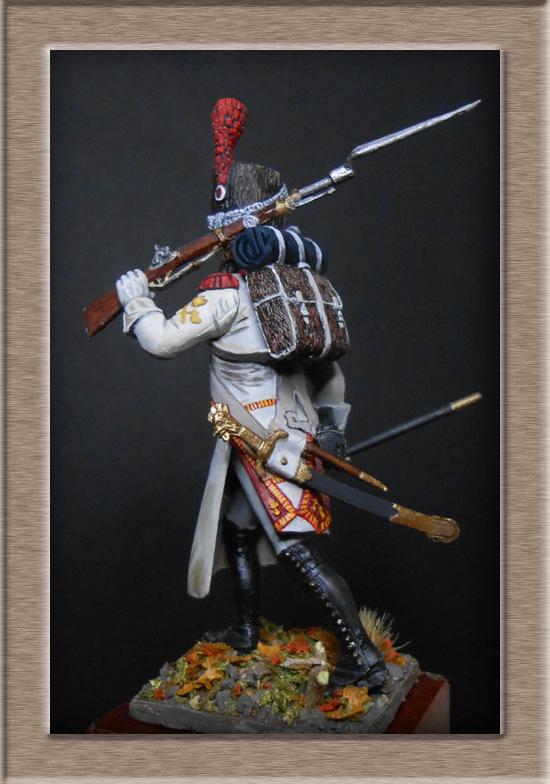 Sapeur des grenadiers  hollandais de la Garde SOGA  Miniatures 54mm résine Dscn4633