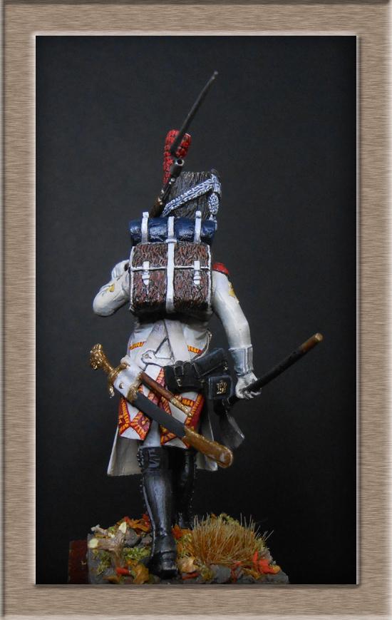 Sapeur des grenadiers  hollandais de la Garde SOGA  Miniatures 54mm résine Dscn4634