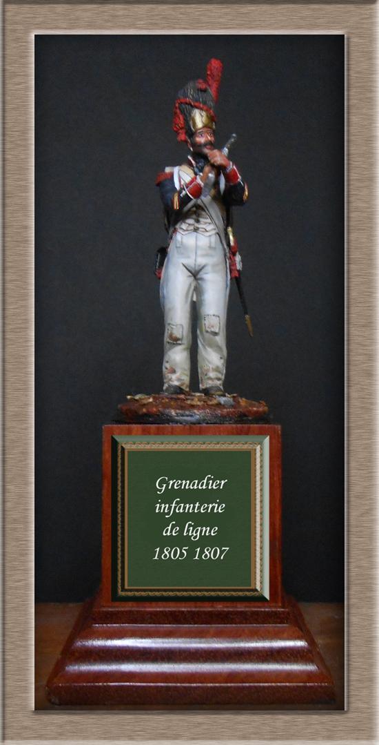 Vitrine Alain 2 Légion Portugaise .Grenadier1808-1814 Chronos Miniatures résine   54mm résin 54 mm ) - Page 14 Dscn4635