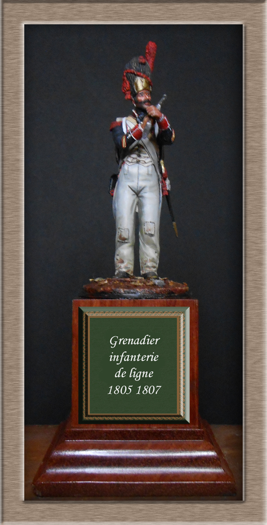 Grenadier de ligne 1er Empire SOGA Miniature 54mm résine Dscn4640