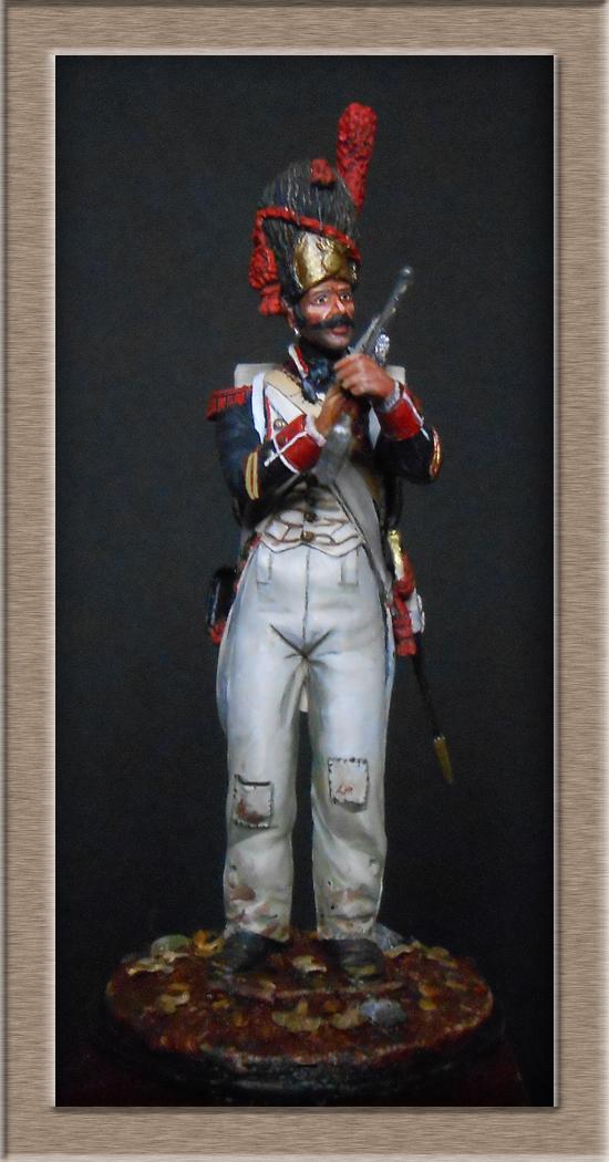 Grenadier de ligne 1er Empire SOGA Miniature 54mm résine Dscn4641