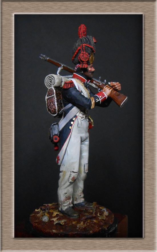 Grenadier de ligne 1er Empire SOGA Miniature 54mm résine Dscn4642