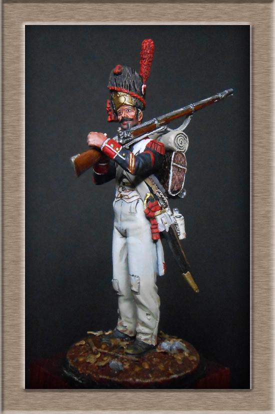 Grenadier de ligne 1er Empire SOGA Miniature 54mm résine Dscn4643