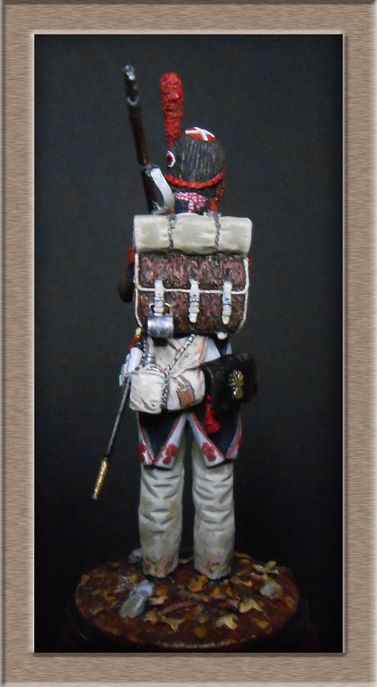 Grenadier de ligne 1er Empire SOGA Miniature 54mm résine Dscn4644