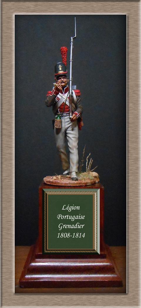 Grenadier de la Légion Portugaise 1808-1814.Chronos miniatures résine54mm Dscn4716