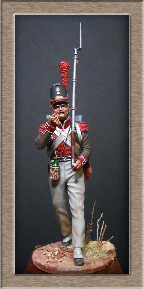 Grenadier de la Légion Portugaise 1808-1814.Chronos miniatures résine54mm Dscn4717