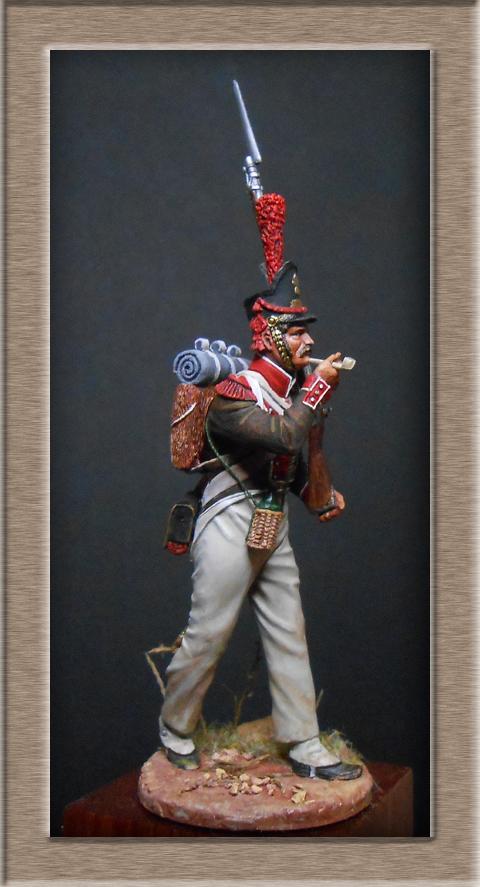 Grenadier de la Légion Portugaise 1808-1814.Chronos miniatures résine54mm Dscn4718