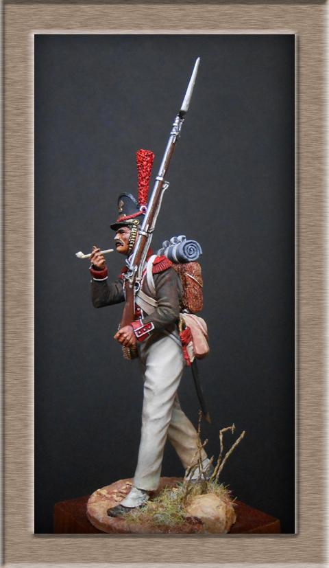 Grenadier de la Légion Portugaise 1808-1814.Chronos miniatures résine54mm Dscn4719