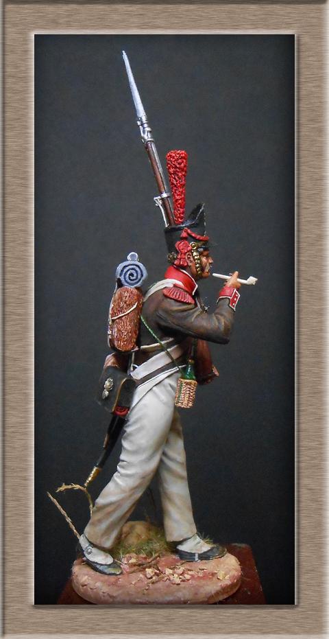 Grenadier de la Légion Portugaise 1808-1814.Chronos miniatures résine54mm Dscn4720
