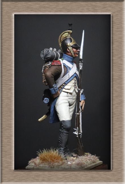 Fusilier légion du midi 1805 Chronos Miniatures 54mm Img_1314