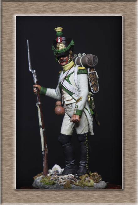 Voltigeur régiment Joseph Napoléon 1809 Chronos Miniature (54mm) Img_1417