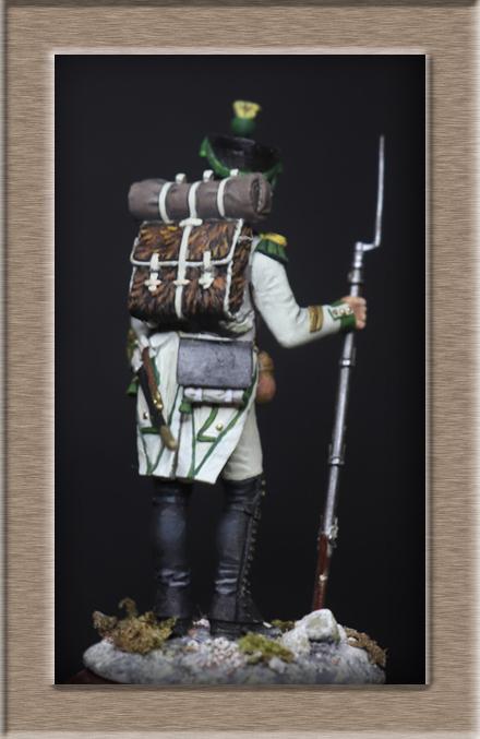 Voltigeur régiment Joseph Napoléon 1809 Chronos Miniature (54mm) Img_1513