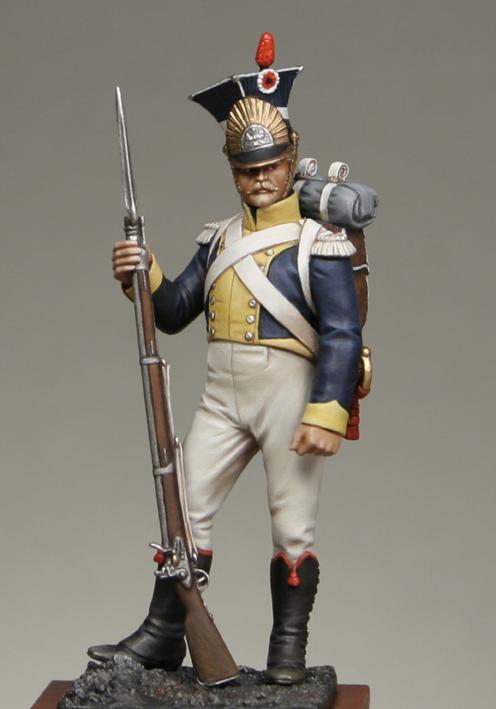 Polonais Voltigeur du 14e de ligne division Dombrowski 1813 Lgv1-g11